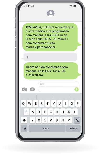 SMS masivos en Colombia